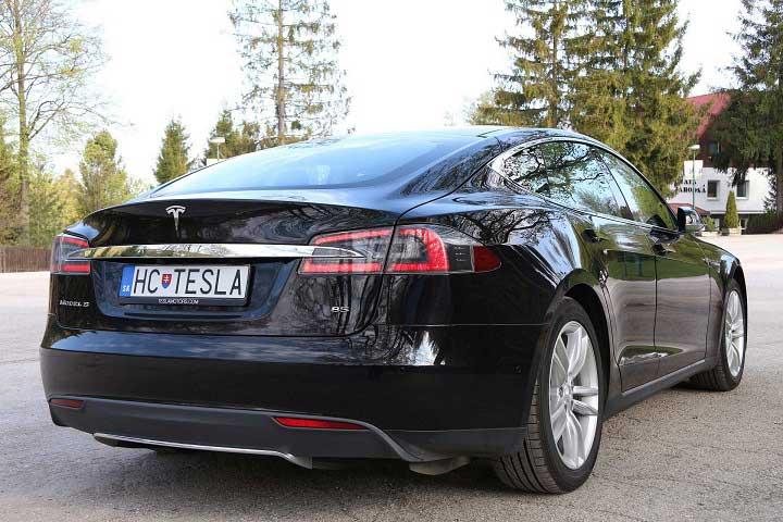Tesla Model S Jahodná Košice